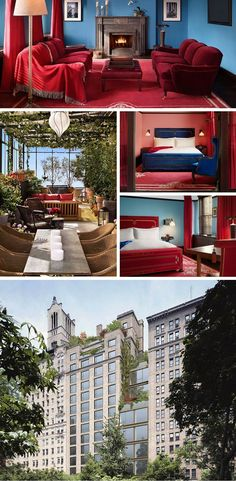 Gramercy Park Hotel has been around as a hotel since 1924 and was given the Ian Schrager treatment in 2004, keeping much of the bohemian vibe that's defined the hotel for so long. Lear more at vossy.com #nyc