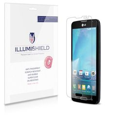 nice iLLumiShield – LG Optimus L90 Screen Protector Japanese Ultra Clear HD Film with Anti-Bubble and Anti-Fingerprint – High Quality (Invisible) LCD Shield – Lifetime Replacement Warranty – [3-Pack] OEM / Retail Packaging (For: T-Mobile)