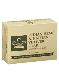 another incredible nubian heritage soap - indian hemp + haitian vetiver