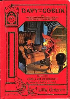 This is the first book I can remember my mother reading to me. It terrified me. No wonder I have such a dark mind. :)