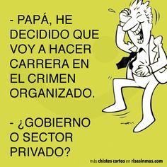 Carrera en el crimen organizado