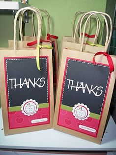 PAPERLAND CREATIONS: Regalo para las Profesoras -Teachers gifts