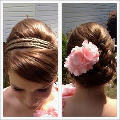 Perfect prom hair :)