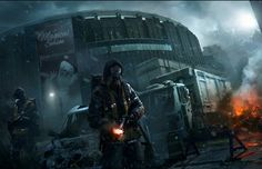 The Division - Collapse Shows How Long Your City Would Last During a Pandemic