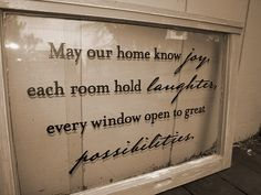 Vintage quotes signs old windows 51 ideas Old Window Crafts, Old Window Projects, Vinyl Projects, Window Ideas, Wooden Projects, Craft Projects, Antique Windows, Vintage Windows, Old Windows