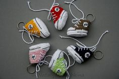Crochet Pattern for Key Cap, Key Chain, Key Cover, Vans crochet, Sneakers, Converse converse, The who converse, All star, Skechers on Etsy, $2.91