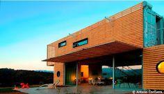 Un loft réalisé avec des containers