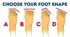 Is your second toe longer than your big toe? Do they cross over? The shape of your feet might hold clues to your personality – so we investigate further.. So apparently the foot can say many …