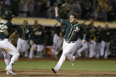 Ryon Healy providing the spark the Athletics need = Twenty-four-year-old Ryon Healy has had what he'll always remember as the best week of his life. Well it was a week and two days, it was ten baseball games, and it was one heck of a beginning of an MLB career.  Healy.....