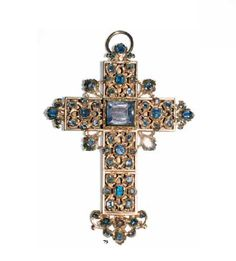 Pectoral cross belonged to the archbishop Spanish Sicard , who ruled the diocese Turritan 1702-1714 .