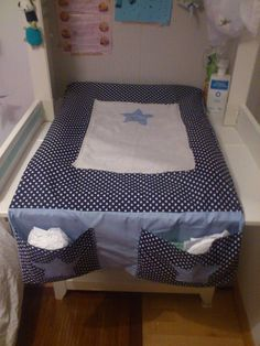 tuto couture portable changing table and changing pad on