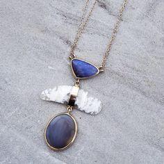 Crafting natural stones into wearable art @melissajoymanning