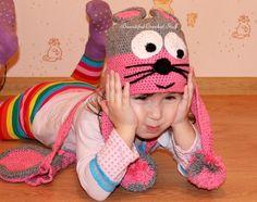 Free Crochet Baby Hat Pattern by janegreen Crochet Baby Hats Free Pattern, Crochet Kids Hats, Cute Crochet, Knitted Hats, Crochet Patterns, Beautiful Crochet, Crochet Scarves, Crochet Ideas, Crochet Projects