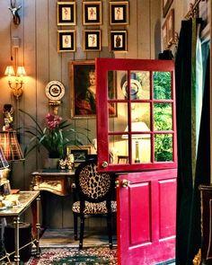 61 Likes, 7 Comments - Dinner Party Guru Elegant Home Decor, Elegant Homes, Decor Interior Design, Interior Decorating, Interior Designing, Log Cabin Living, Deco Addict, Unique House Design, Cool Doors