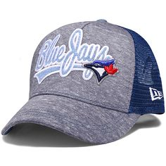 sale retailer 5f142 a0664 Toronto Blue Jays Women s Shorty Swoop 9FORTY Adjustable Cap by New Era  Seattle Mariners, Toronto