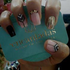 Love Nails, My Nails, Beauty Nails, Hair Beauty, Marble Nail Art, Nail Bar, Perfect Nails, Nail Tips, Beautiful Hands
