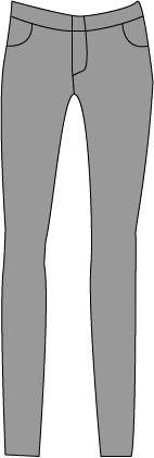 wrinspiration szare spodnie