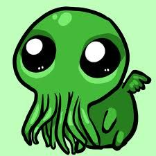 BABY CTHULHU! HE'S SO CUUUUUUTE! *melts*