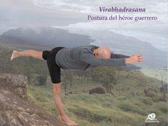 Virabhadrasana. Postura del héroe guerrero