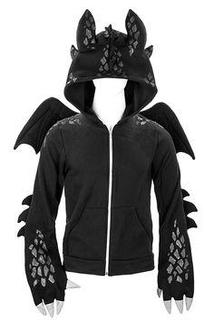 Suggested (again) by Sunny Skarheim on MTB26. Do Ineed a Toothless hoodie or onsie in my life?