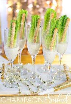 New Year's Eve: Champagne Salad