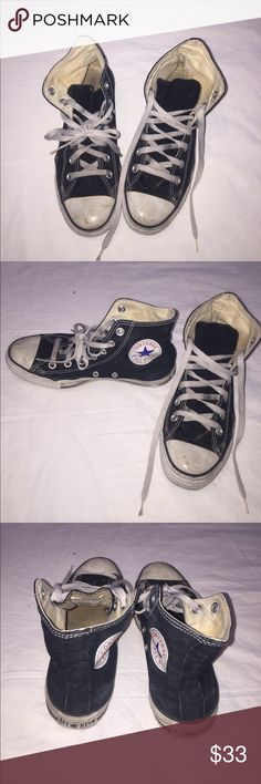 Converse All Star Black Sneakers Converse All Star Black Sneakers. Men's size 5.5 / Women's size 7.5 Converse Shoes Sneakers