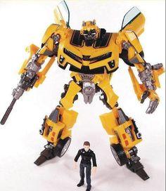 Trasformazione robot human alliance bumblebee e sam action figures giocattoli per giocattoli classici anime figure cartoon toy boy