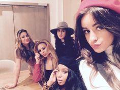 Fifth Harmony today (via @DelphineDf) #5HTakesParis