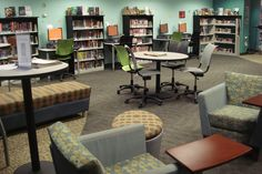 Teen Room, Columbus Metropolitan Library | by informationgoddess29 Corner Desk, Teen, Room, Furniture, Ideas, Design, Home Decor, Homemade Home Decor, Corner Table