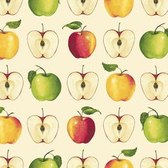 This is an apple fabric made by Red Rooster Fabrics. It is a 100% cotton fabric that is new and unwashed. There are various cuts available. I will make 1 continuous cut for the full amount purchased, and this fabric is off the bolt.  #508  SHIPPING  All domestic orders will receive a flat rate priority shipping of $5.99 for as much cotton fabric as is desired. For orders of 2 yards or less, fabric will ship first class and a refund will be issued for the overpayment of shipping…