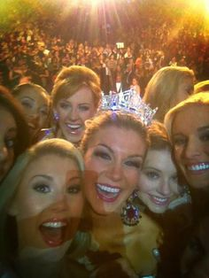 There she is!!! Congrats to Miss America Mallory Hagan!