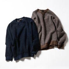 【tsuki.s】ブラッシュニット プルオーバーの商品詳細ページ。ワンランク上の装いは、極上の着心地から。起毛仕立てのウールの独特な表情×滑らかに織ったコットンの裏地によって、上品さと着心地の良さを最高水準で叶えてみせたtsuki.sの最新作。