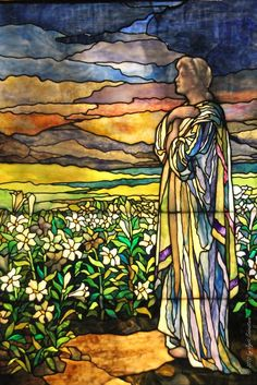 Tiffany stain glass work at Navy Pier, Chicago. I remember walking the museum and it took me forever, because I could not believe the work got more beautiful.