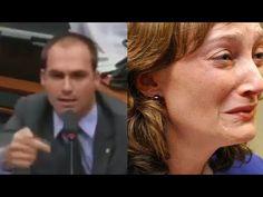 Eduardo Bolsonaro esculacha Maria do Rosário e seus comparsas