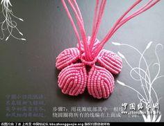 中国结 荷花的组合教程 立体绳结教程与交流区 4
