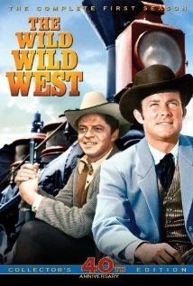 The Wild Wild West. This series was canceled due to its violent content. By TODAY'S standards for violence, the series is quite tame!