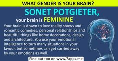 Find out what gender is your brain!