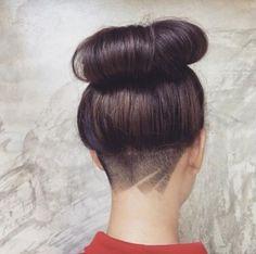 Cortar cabello nuca