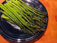 Dad Cooks Dinner: Steam Sauteed Asparagus