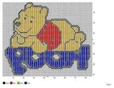 Pooh wall hanging