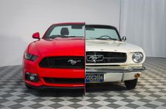 Side-by-side 1965/2015 Mustang Display showcases 50 Years of Innovation at National Inventors Hall of Fame Museum