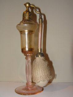 Pink vintage atomizer