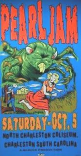 Pearl Jam - North Charleston Coliseum.  1996