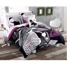 Roxy Paparazzi Twin XL Duvet Bed in Bag 200 TC Sheets