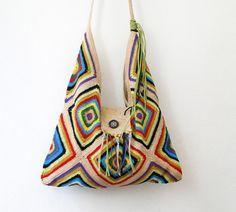 bolsos con hexagonos ganchillo - Buscar con Google
