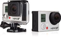 Up to 4Kp15 video and immersive wide-angle perspective—GoPro HERO3+ Black Edition Helmet Cam. #REIGifts