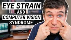 Feeling eye strain from being on the computer or staring at your phone? Here are 5 tips to help with eye strain relief from computer vision syndrome. Acupressure Treatment, Acupressure Points, Neck And Shoulder Pain, Neck Pain, Dry Eyes Cure, Dry Eye Treatment, Muscles Of The Face, What Is Digital, Computer Vision