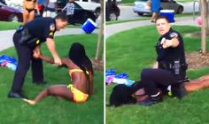 Texas police officer filmed wrestling black teenager to the ground resigns – Today USA