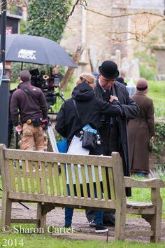 carson season 5 filming downton abbey