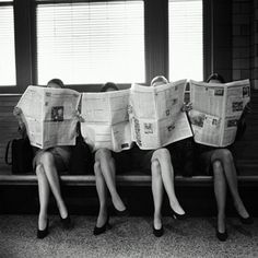 newspapers'girls